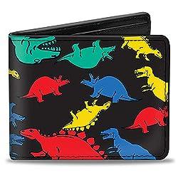 8. Buckle-Down Bifold Dinosaurs Wallet