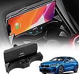 Paobiy Convient pour BMW X1/X2 2016 2017 2018 2019 2020 2021 Chargeur de voiture sans fil pour...
