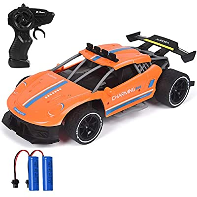 Amazon - Save 55%: RC Racing Cars, 1/16 Scale High Speed Remote Control Car with 2.4Ghz, Electric…