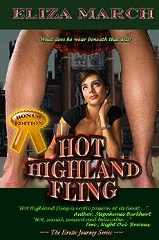 Hot Highland Fling: Erotic Journeys by [Eliza March]