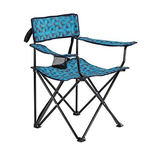 RENJUN Mazar Extérieur Croquis Artistiques Pêche Portable Chaise Pliante Dos Sièges Décontracté Petit Tabouret Folding Chair (Color : Multi-Colored)