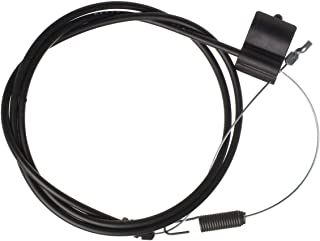 HAKATOP 946-04112A 746-04112A 64.5-inch Drive Engagement Control Cable Forward Fits Walk-Behind Lawn Mower MTD Huskee Troy-Bilt White
