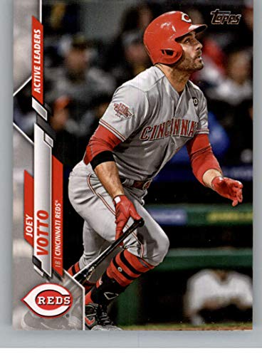 2020 Topps Update Baseball #U-215 Joey Votto Cincinnati Reds Active Leaders Official MLB Traded/Highlights/Update Trading Card From The Topps Company in Raw (NM or Better) Condition