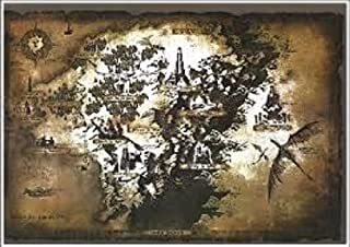 Dark Souls II Authentic Cloth Game Map (16.5