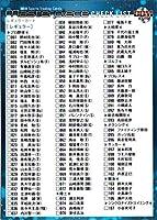 BBM2016 MASTERPIECE レギュラーカード No.128 チェックリスト
