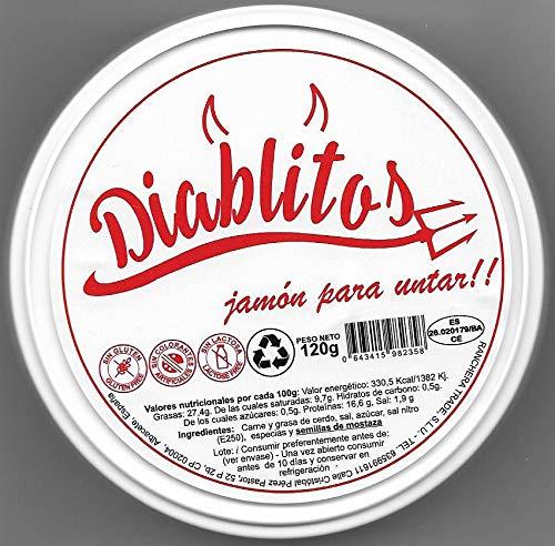 Diablitos Jamon endiablado 120 gramos