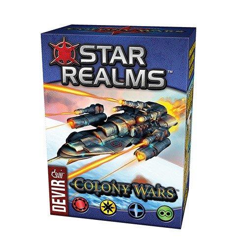 Deckbauspiel ADC Blackfire Entertainment Star Realms Colony Wars deutsch