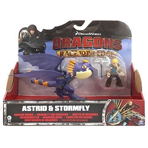 Dragons Race To the Edge Astrid & Stormfly Purple Version