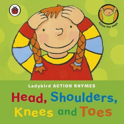 Preisvergleich Produktbild Ladybird Action Rhymes: Head,  Shoulders,  Knees and Toes