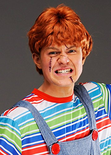 Magic Box Chucky Style masculin Ginger perruque