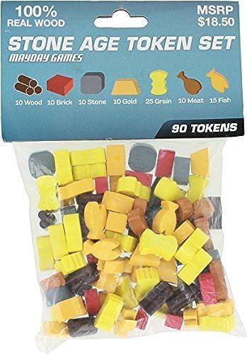 excelentes precios Stone Age Token Set for for for the Board Game by Mayday Games  El nuevo outlet de marcas online.