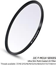 JJC 72mm Multi-Coated Ultraviolet Filter for Lens with 72mm Filter Thread e g  for Sony 18-105mm  24-240mm  Fuji Fujifilm 10-24mm  Olympus M Zuiko 40-150mm  Canon 28-135mm Lens