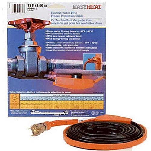 Easy Heat Inc. AHB016 Pipe Heating Cable-6' PIPE HEATING CABLE