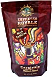 Espresso Royale Coffee, Carnivale Dark Roast 16 Ounce Bag, Coffee Beans, 1lb Bag