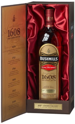Bushmills 1608 Blended Irish Whiskey, 1er Pack (1 x 700 ml)