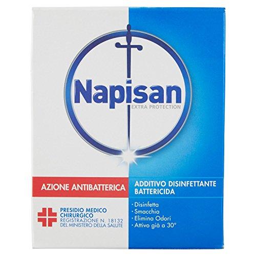 Napisan Additivo Disinfettante Battericida per Bucato, Polvere, 600g