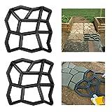 Froadp 2 Stück Betonform Schwarz Schalungsform DIY...