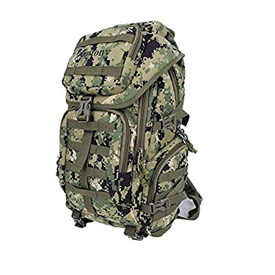 Military Tactical Backpack Large Army 3 Day Assault Pack Molle Bag Backpacks (Multicam/Green)