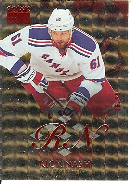 Hockey NHL 2013-14 Fleer Showcase SkyBox Premium Star Rubies  16 Rick Nash 50 NY Rangers