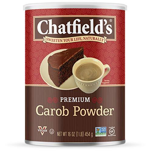 Chatfield's All Natural Carob Powder, Unsweetened, 16 Ounce