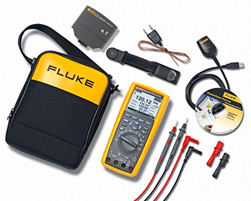 Fluke 289/FVF/IR3000 289 Multimeter with Software and Wireless Connectivity Kit