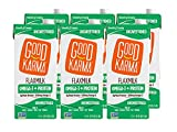 Good Karma Plant-Powered Flaxmilk + Protein, Unsweetened, 32 oz Shelf-Stable Carton (Pack of 6)...