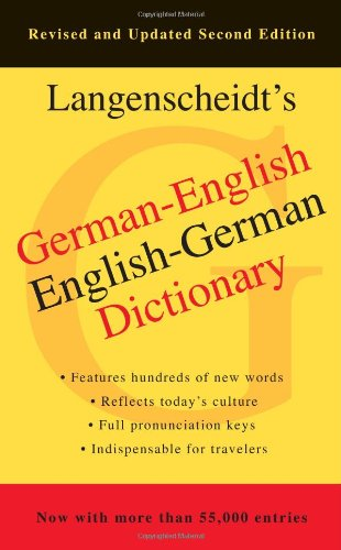 Langenscheidt's German-English Dictionary