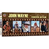 MasterPieces John Wayne Panoramic Jigsaw Puzzle, Forever in Film, Dr. Toy's 100 Best Winner, 1000 Pieces