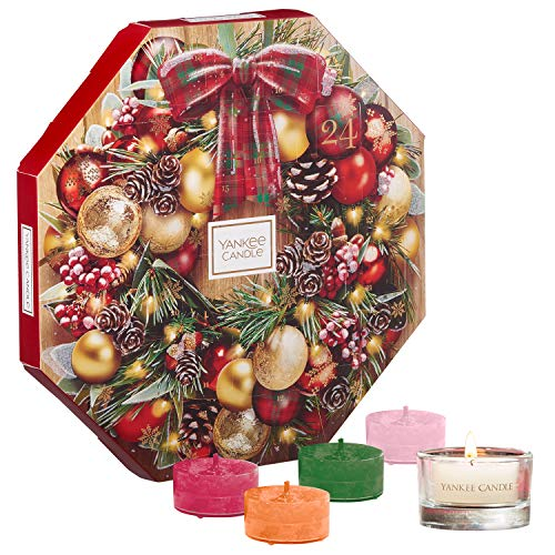 Yankee Candle 2019 Advent Calendar Gift Set with Tea Lights