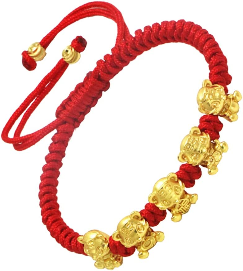 Generic 2022 Chinese New Low price Year Tiger String Red Shui Lu 100% quality warranty Rope Feng