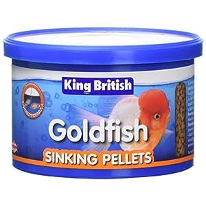 King British Goldfish Sinking Pellet 140g