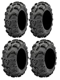Full set of ITP Mud Lite XXL (6ply) 30x10-12 and 30x12-12 ATV Tires (4)