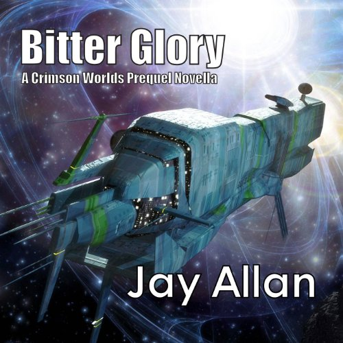 Bitter Glory audiobook cover art