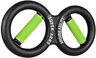 Dainzusyful Twister bar Exercise Equipment Forearm Strength 8 Shape Hand Arm Strength Hand and Forearm Trainer