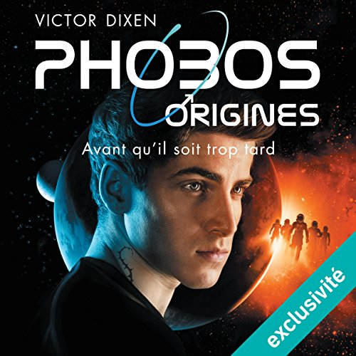 Phobos Origines audiobook cover art