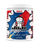 Bomber Pop Tub - Juju Professional Grade Gaming Energy Drink Mix - Healthy Supplement Increases Focus, Energy, Reaction time, Eye Health. Natural Caffeine, nootropics, Vitamins. Sugar-Free, Keto.