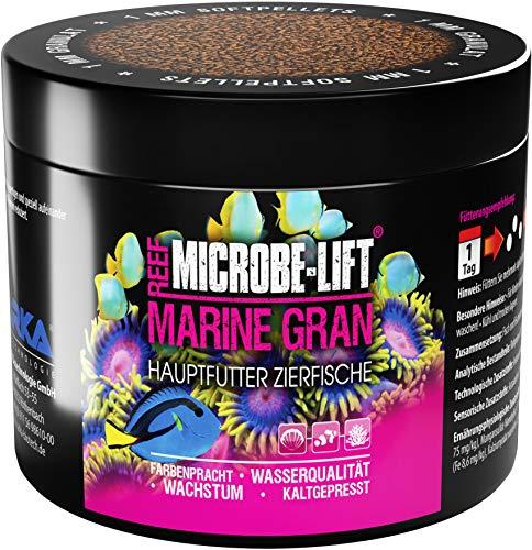MICROBE-LIFT Marine Gran - Alleinfutter für alle Fische in jedem Meerwasser Aquarium 500ml / 300g