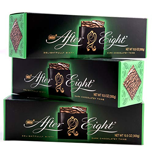 Nestle After Eight, Dark Mint Thins (30 Mints - 300g/10.5oz, PACK - 3)