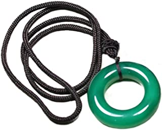 Wish Costume Shop Chise Hatori Cosplay Necklace Pendant Costume Accessories (One size, Green)