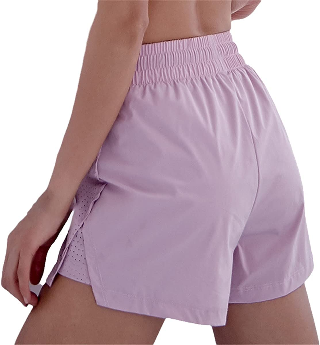 Style Casual Breathable Mesh Cheap mail order specialty store Yoga Max 87% OFF Jogging Ladies Shorts Sweat-Pr