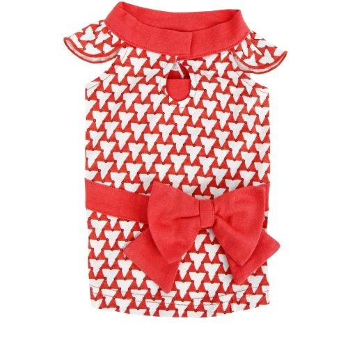 Puppia Martina Rot L Hundebekleidung