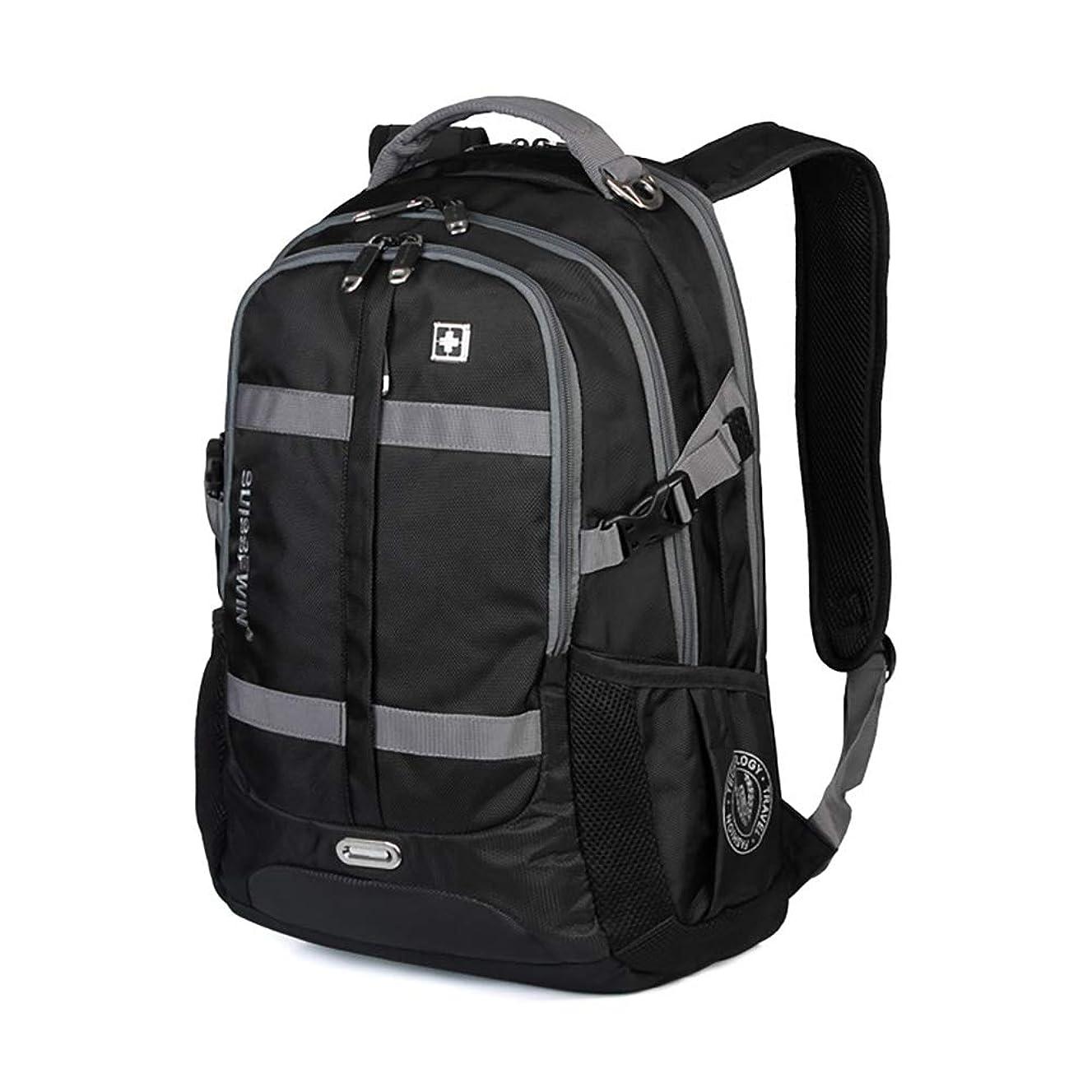 従事したパプアニューギニアラッドヤードキップリングSWISSWIN リュックサック メンズ ビジネスバッグ 大容量 通勤 通学 2色 SW8350