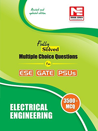 3500 MCQs: Electrical Engineering- Practice Book for ESE, GATE & PSUs