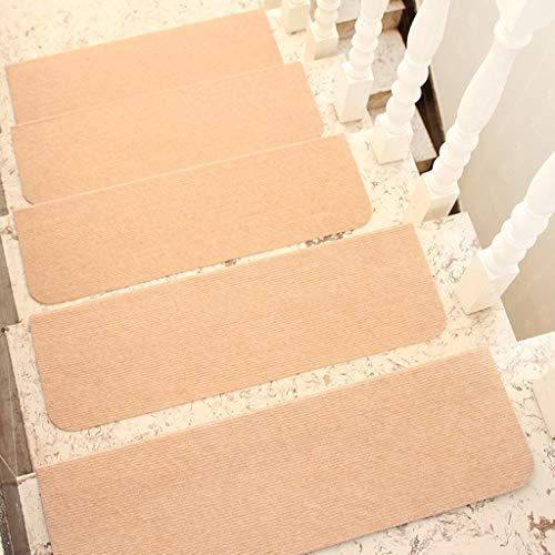 ZEQUAN Escaleras con Antideslizante escaleras, de Madera Peldaños, Perfecto for Animales domésticos y niños (marrón, 55 cm x 21 cm) (Color : 2psc, Size : 55 * 21cm)