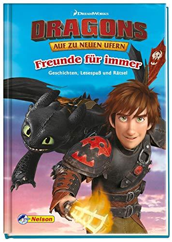 DreamWorks Dragons: Freunde für immer: Lesespaß und Rätsel