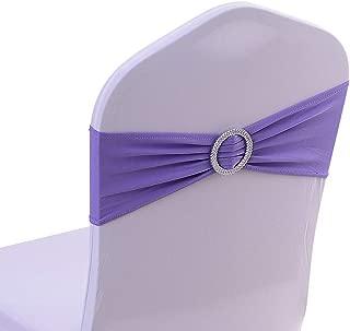 deep purple chair sashes