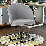 Garten Badewanne Stuhl Wohnzimmer Stuhl mit Rollen 360 ° -Drehung, Moderne Freizeitmöbel, ergonomische Handlauf Design, Anpassung anheben, Inneneinrichtungen