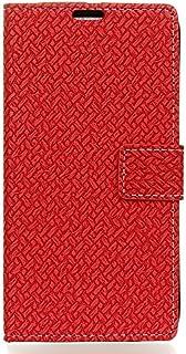 Xiaomi Mi Play 用 大人の型押し 【Huy】 手帳型 ケース カバー 内側ケース 黒TPU スマホ 手帳 スマホケース スマホカバー