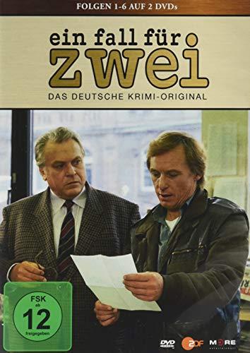 Ein Fall für zwei - Folgen 1-4 (Günter Strack) (2 DVDs)
