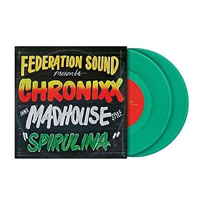 "7"" Serato X FEDERATION SOUND presents CHRONIXX inna MADHOUSE style (PAIR), Green, SCV-SP-066-FS"